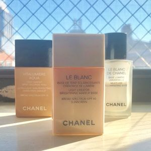 Chanel Le Blanc Makeup Primer with SPF 40